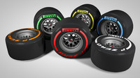 F1 Rims and Tires