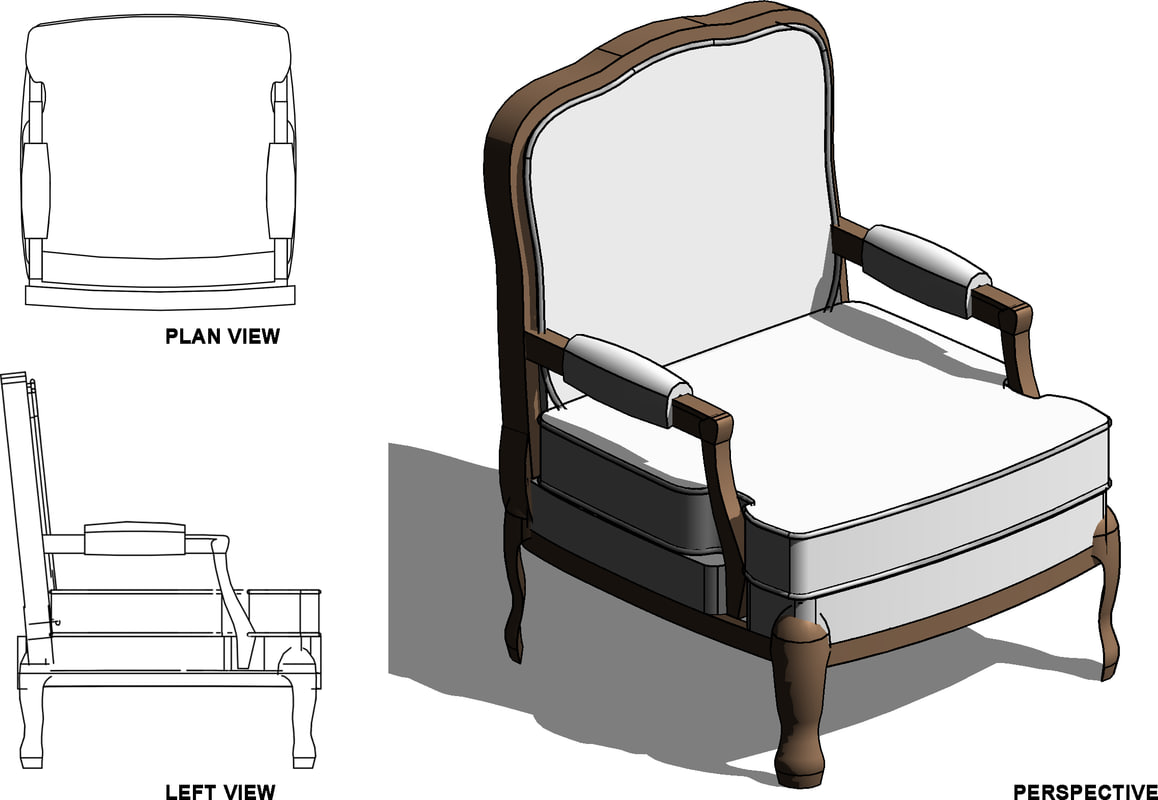 Building Rfa Chair Revit Living