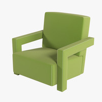 utrecht chair 3d model
