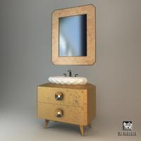 3d model oasis pasha washstand