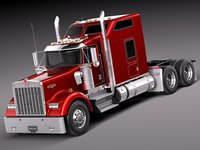 Kenworth W900 Sleeper Cab 2014