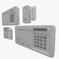 wireless alarm skylink sc-1000 3d max