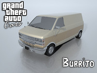 3d burrito grand theft model