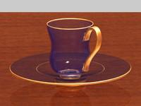 maya transparent cup