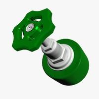 gate valve 3d model