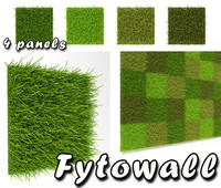 3d model fytowall wall fyto