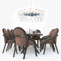 maya fendi casa dining table