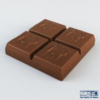 mars chocolate candy 3d max
