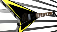 randy rhoads guitar 3d model