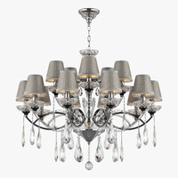 3d model chandelier 867154 campana osgona