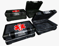box medical supplies 3d obj