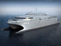 navy hsv hsv-2 3d obj
