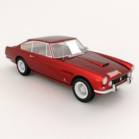 ferrari 250 gte animation 3d model