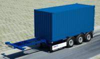 schmitz containers 3d model