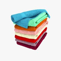 Colour Folded Towels