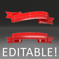 3D Ribbon - Editable
