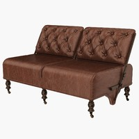 eichholtz sofa tete 3d model