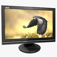 3d monitor lcd asus wide