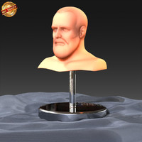 3ds max modeled human