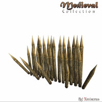 medieval ready games 3d model