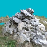 pile stones fbx