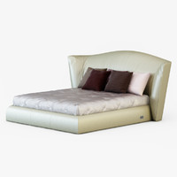 3d model of bed longhi