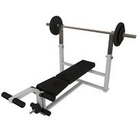 maya weight lifting bench