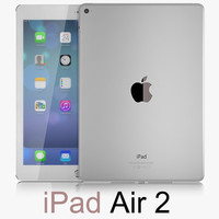 apple ipad air 2 obj