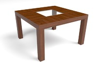 Tango 50'' Dining Table