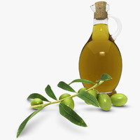 olive oil 3d max