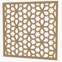 3d max decorative panel