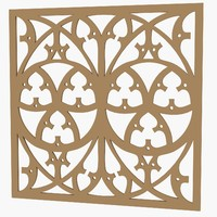 decorative panel 3d 3ds