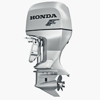 3d engine honda bf225 lu