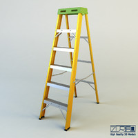 3d model ladder industry