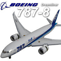 3d boeing ana