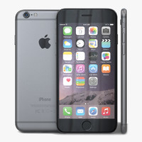 apple iphone 6 space 3d c4d