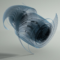 glass sculpture 3d model