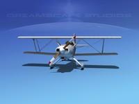 3dsmax propeller acro sport biplane