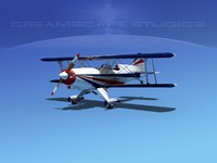maya propeller acro sport biplane