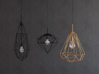 3d pendants light