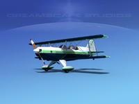 3d model acro sport seat plane