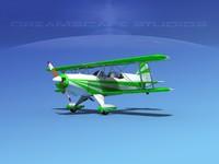 acro sport biplane ii 3ds