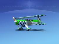 acro sport biplane ii 3d obj
