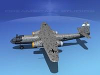 arado ar blitz bomber 3d model
