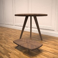 munjoy tables 3d model