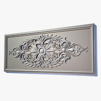 3ds wall decor panel el55