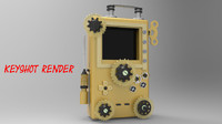 max steampunk gameboy