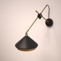 shear wall lamp 3d model