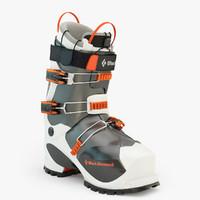 3d prime ski boot