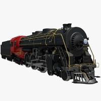 New York Central Steam Train